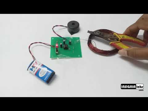 METAL DETECTOR PROJECT KIT | ELECTRONIC DIY KIT