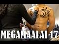 MEGAMAALAI 2017 Vlog | Male Model Body Contouring & Tattoo Painting| Thuri Makeup