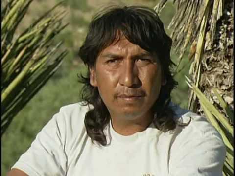 Pinceladas de hombres cazadores. Pueblo kiliwa de Baja California.