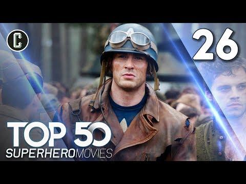 Top 50 Superhero Movies: Captain America: The First Avenger - #26