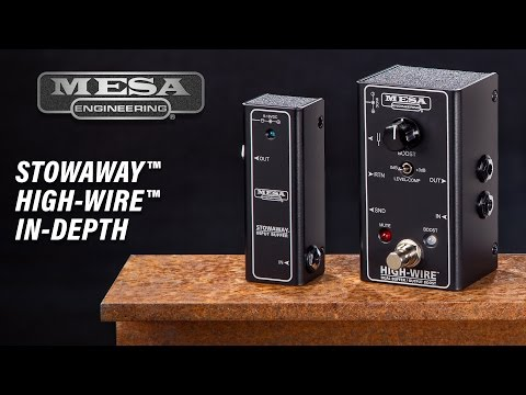 MESA/Boogie Stowaway and Highwire In-Depth Video & Comparison