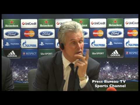 Jupp Heynckes Bayern Munich Post Match Press Conference