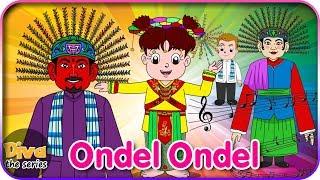 ONDEL ONDEL | Lagu Daerah Betawi ( DKI Jakarta ) | Diva bernyanyi | Diva The Series Official