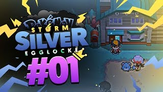 """Pokémon Storm Silver Egglocke w/ TheKingNappy! - Ep 1 """"This is the sea, as you can see."""""""