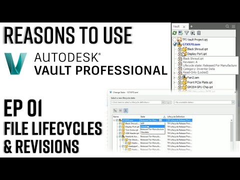 Reasons to use Vault Professional Episode 1