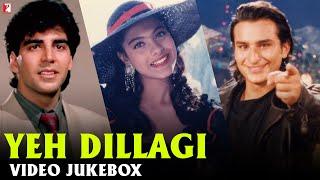 Yeh Dillagi   Video Jukebox   Akshay Kumar, Saif Ali Khan, Kajol   Dilip Sen, Sameer Sen   Sameer