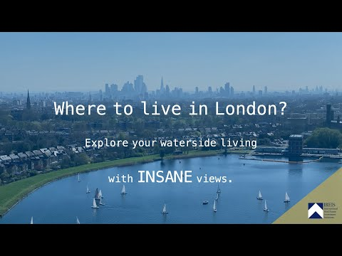 Where to live in London? | Exploring the waterside living with INSANE views in Woodberry Down