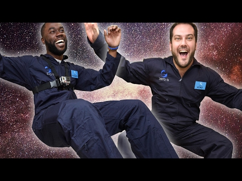 Thumbnail: People Experience Zero Gravity For The First Time