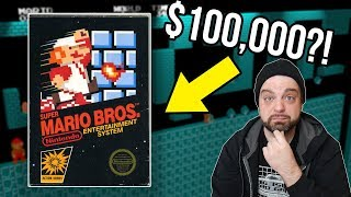 Why THIS Super Mario Bros. NES Sold for OVER $100K! | RGT 85