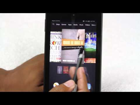 Amazon Fire HD 6 (Tablet) for Beginners   H2TechVideos