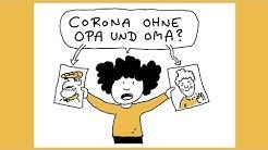 Corona ohne Opa und Oma? | Ellis kleine Corona-Kunde | Planet Schule | SWR