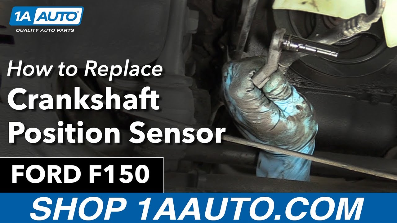 hight resolution of how to replace crankshaft position sensor 97 99 ford f150