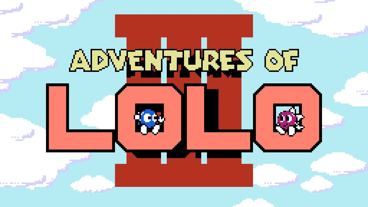 Adventures Of Lolo 3 Nes Gameplay Youtube