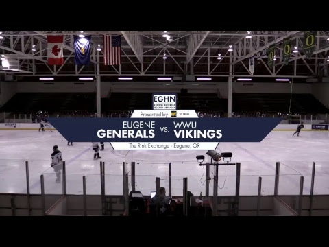 Eugene Generals vs. WWU Vikings | January 26, 2018
