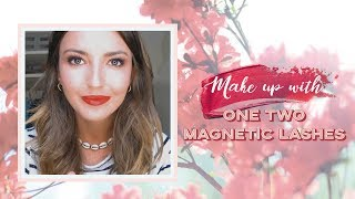 MAKE UP WITH ONE TWO MAGNETIC LASHES | ALEXANDRA PEREIRA
