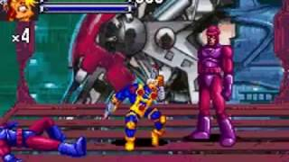 X-Men: Reign of Apocalypse - (GBA) - {Cable} - 1 Crédito/Até o Final