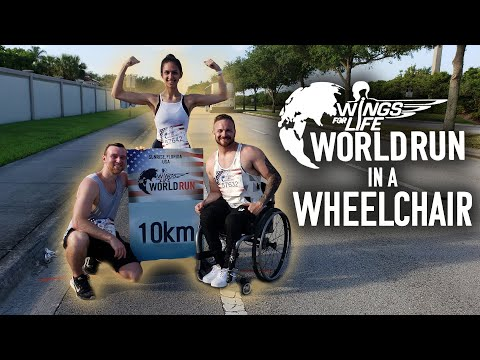 Best Advice For New Wheelchair Users! - Wings For Life World Run Vlog