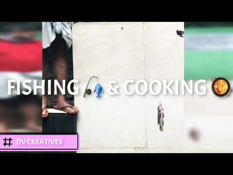 FISHING 🎣 🐟🐟  &  COOKING 🥘🥘