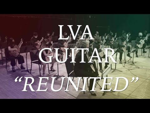 """LVA Guitar: """"Reunited"""" Live from the Black Box Theater"""