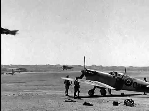No 92 Squadron RAF, Spitfire Mk V, Desert Air Force