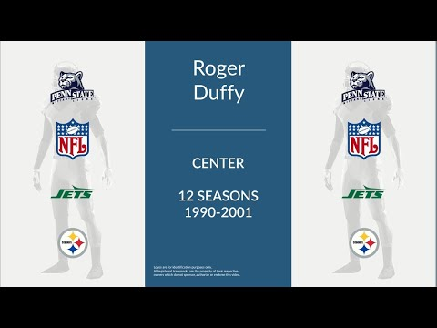 Roger Duffy: Football Center and Guard