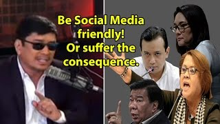 """Ben Tulfo's insulting lecture to """"yellow"""" opposition senators!"""