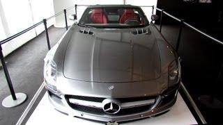 2013 Mercedes-Benz SLS63 AMG - Exterior Walkaround - 2013 F1 Weekend MTL - Gilles Villeneuve Circuit thumbnail