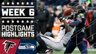 Falcons vs. Seahawks | NFL Week 6 Game Highlights