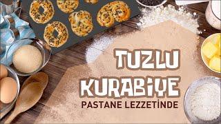 Tuzlu kurabiye tarifi (pastane lezzetinde), hamur işi tarifi, yemek tarifi, salt cookie recipe
