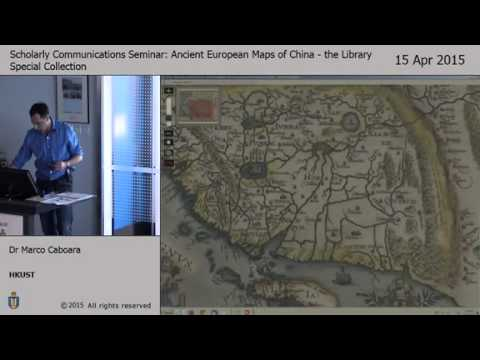 Ancient European maps of China : the library special collect