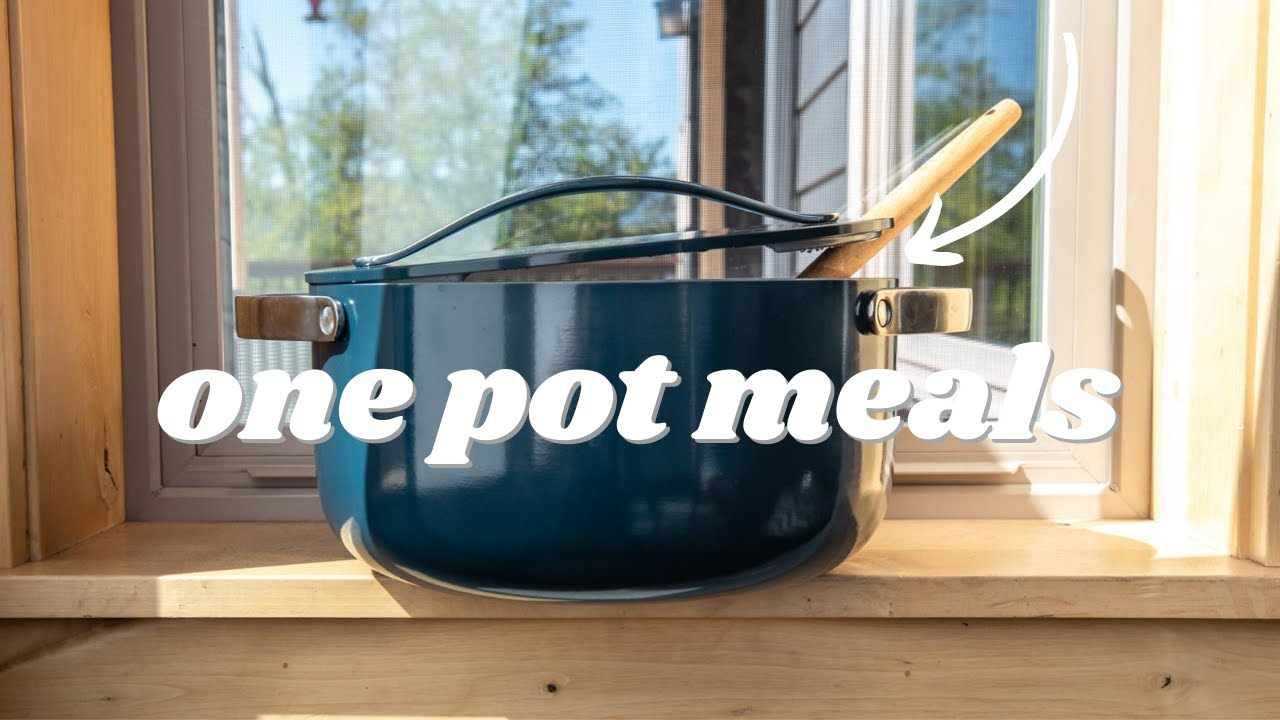 What I Ate: ONE POT MEALS! (very real life)