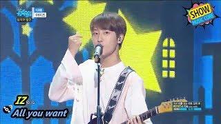 [HOT] IZ - All you want, 아이즈 - 다해 Show Music core 20170902