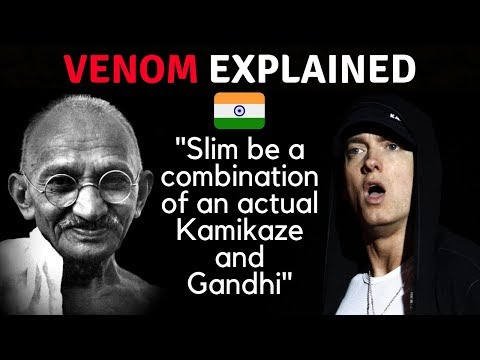 Eminem mentions India and Gandhi in new song Venom - Review in Detail [Hindi]