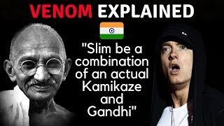 Eminem references India and Gandhi in his song Venom - Review in Detail in Hindi