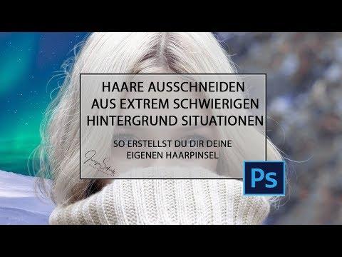 Haare Ausschneiden Aus Extrem Schwierigen Hintergrund Situationen - Jürgen Schütz Photography