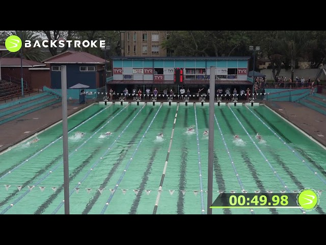 #201 Mixed 100 LC Meter Freestyle Heat 11 of 15
