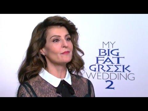 MY BIG FAT GREEK WEDDING 2: Nia Vardalos & John Corbett on Returning for a Sequel