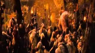 Песня короля Гоблинов (Хоббит Нежданное путешествие вырезанная сцена )