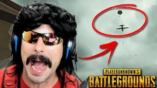 DrDisRespect's Perfect Timing Moment on Battlegrounds and Funny Moments on PUBG!