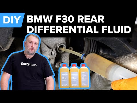 BMW F30 Rear Differential Fluid Replacement DIY (2012-2018 BMW 328i, 335i, & More)