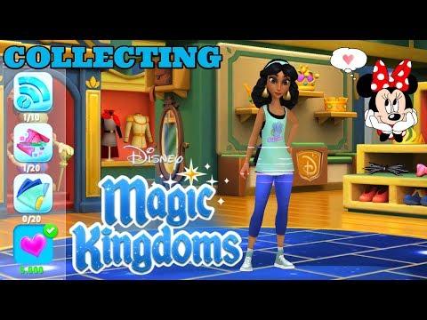 UNLOCKED JASMINE'S COMFY COZY COSTUME! Disney Magic Kingdoms   Gameplay Walkthrough Ep.371