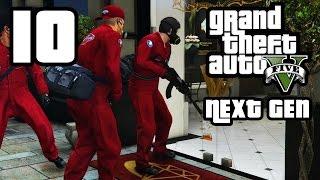 GTA 5 Next Gen Walkthrough Part 10 - Xbox One / PS4 - JEWELLERY HEIST - Grand Theft Auto 5
