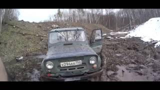 ВидеоДневник УАЗ. Первый трофи-рейд.Коварная ЛЭП.