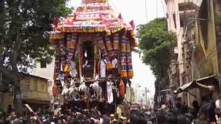 Madurai Chithirai Thiruvizha 2015 Meenakshi Sokkanathar Therottam