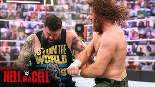Owens battles through the pain against Zayn: WWE Hell in a Cell 2021 (WWE Network Exclusive)