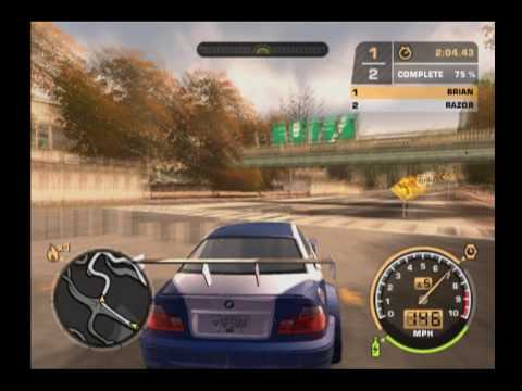 Need For Speed Most wanted PS2 Gameplay part.3 - YouTube Ps2 Need For Speed