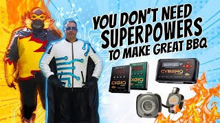 Unleash Your BBQ Superpowers With BBQ GURU!