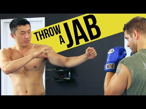"How to Throw a ""Boxing"" Jab (Learn from a Pro!)"