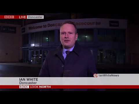BBC Look North 7th February 2019 Racing Cancelled At Doncaster After Equine Flu Outbreak In UK