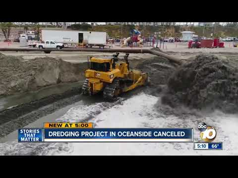 Frustration after Corps cancels Oceanside Harbor dredging